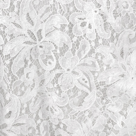 fabric design: Wedding white lace background