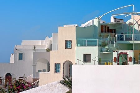Oia village in Santorini island in Greece Stock Photo - 13056470