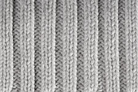 회색 니트 수평 질감 된 배경 스톡 콘텐츠 - 13056691