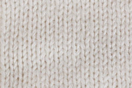 White knitted horizontal textured background