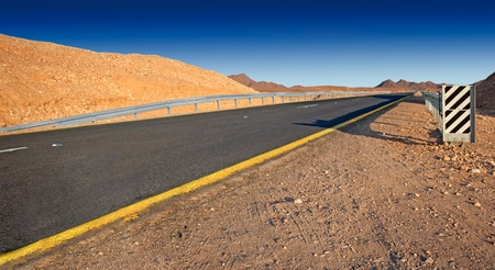 infinity road: Desert highway   Israel - Judean desert