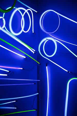 Neon sign abstract photo