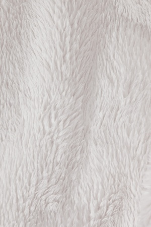 rug texture: Soft, fur furry white textured background Stock Photo