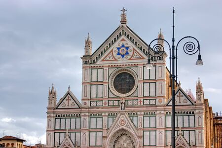 florence italy: Cathedral Church Duomo basilica di santa maria del fiore in Florence, Italy