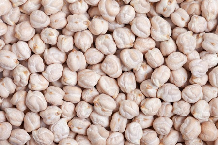Chickpeas texture background  Also called Garbanzo Bean or Ceci Bean  Originating in the Middle East, mild and sweet flavor with good protein and iron  Stock Photo - 13404002
