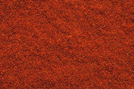 carnes: Ground Paprika textura, fondo full frame utiliza para arroces, guisos, colores y sopas, carnes
