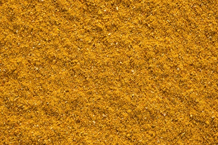 Ground Curry  Madras Curry  texture, full frame background  Used as a spice in cuisines all over the world