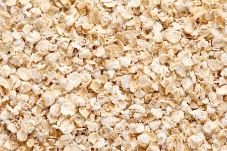 Oatmeal  rolled oats  texture, full frame background   Oats is an excellent source of  thiamine, iron and fiber  Stock Photo - 13493008