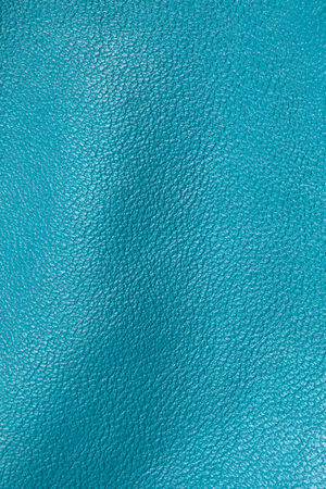 Blue leather texture for background photo