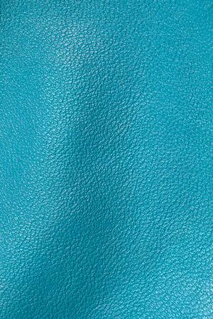 cuero vaca: Textura de cuero azul para el fondo Foto de archivo