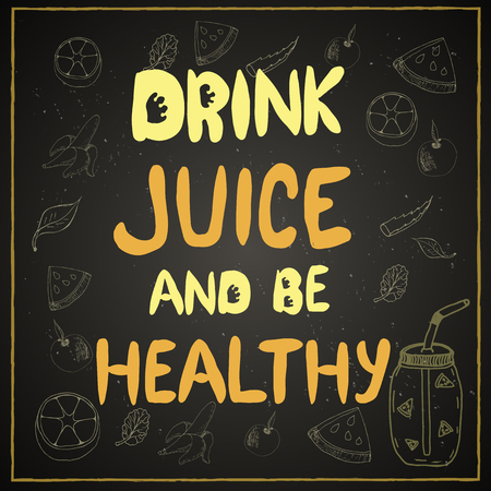 lettering, healthy lifestyle 向量圖像