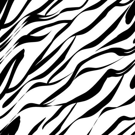 Nahtloses Muster imitiert Zebrafarbe