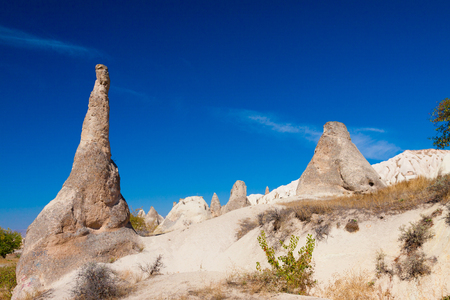 Turkey Cappadocia rock beautiful ancient stone landscape