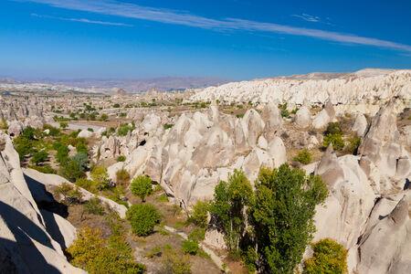 Turkey Cappadocia rock beautiful ancient stone landscape