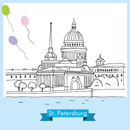 St Petersburg_vector