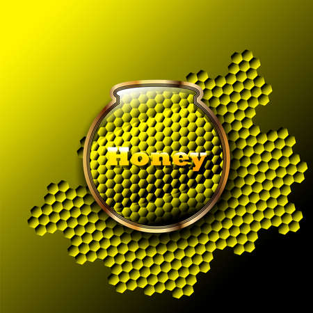 Yellow glossy label  Use for your design Vector