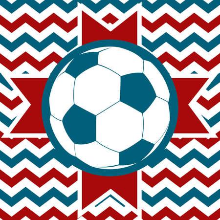 striker: soccer ball