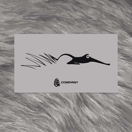 foxy: vector logo abstract beautiful Fox Illustration