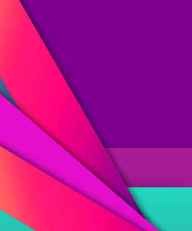 Lined pink and purple color block digital design