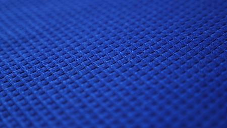 fabric as background. copy space, blue textured fabric