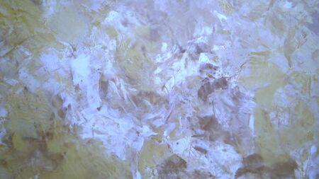Yeso veneciano beige de textura decorativa de fondo. de cerca.