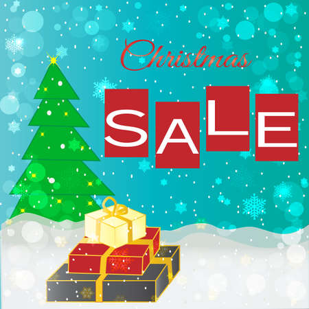 Christmas holiday background, sale banner ,poster and etc. 写真素材