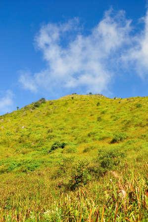 dao: scene of Chaing Dao mountain, thailand Stock Photo