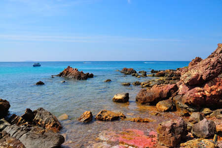 scene of Koh Lan, Pattaya, Thailand photo