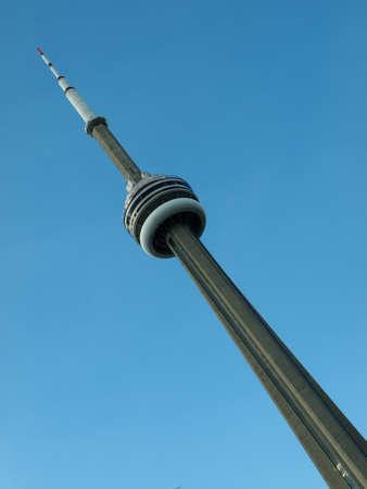 building cn tower: CN Tower, The landmark of Toronto, Canada