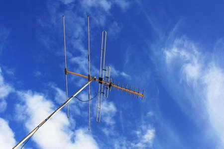 TV aerial photo