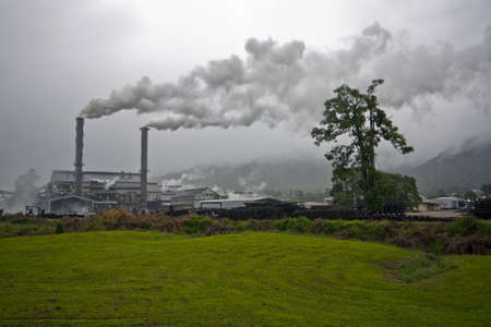 sugar mill in crushing season Tully Australia Stock Photo - 7489109