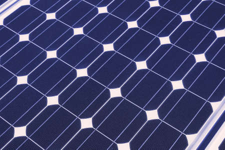 blue solar pane Stock Photo - 7637543