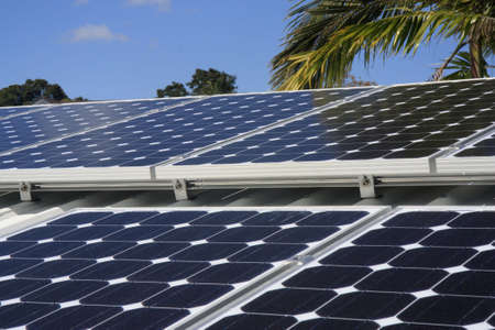 solar panel on a house