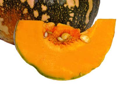 pit fall: pumpkin cut Stock Photo