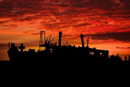shipwreck of the meheno on Fraser Island  photo