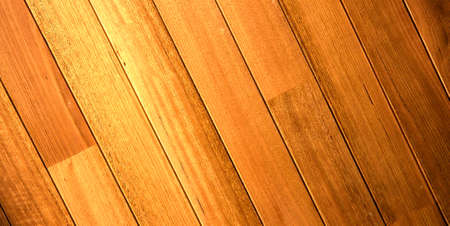 timber floor: timber floor boards with dark stain Stock Photo
