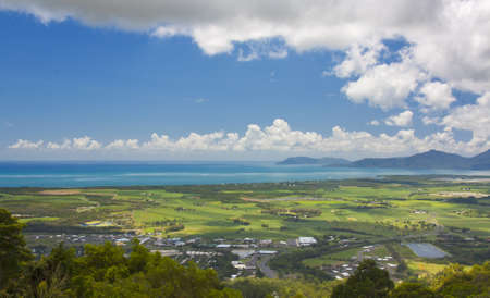 cairns: view of Cairns North Queensland Australia Stock Photo