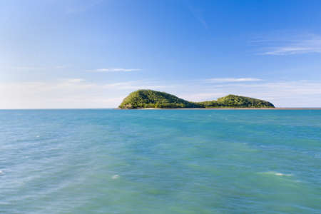 cove: Double Island  resort just off Palm Cove Australia Stock Photo