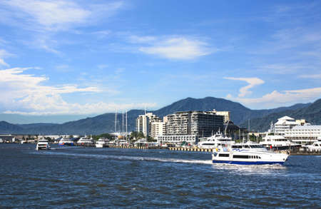 cairns: view of cairns habor Queensland Australia