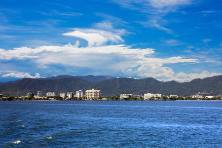 The beautiful tourist  city of Cairns in Queensland Australia photo