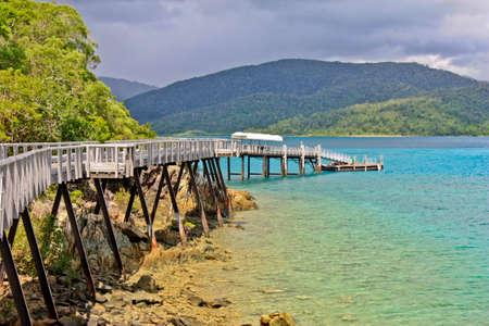 whitsundays: Long Island Whitsundays Queensland Australia Stock Photo
