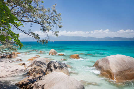 Fitzory Island  North Queensland Australia on a sunny day  photo