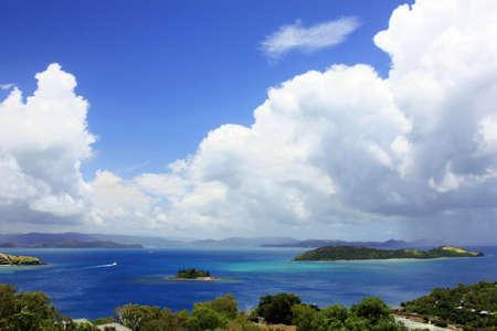the east coast: Whitsunday Island of the east coast of Australia