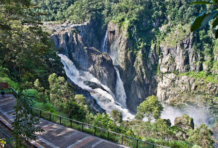 barron falls which is located in the Barron Gorge National Park