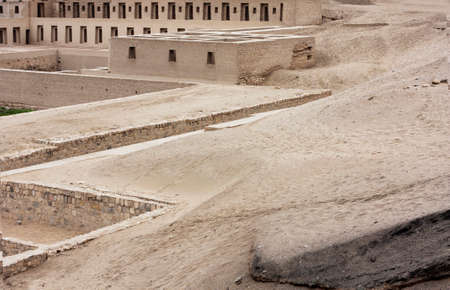 archaeological complex: Ruins at the Archaeological Complex of Pachacamac in Lima