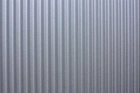 een close-up van een blad van nieuw dak ijzer Stockfoto