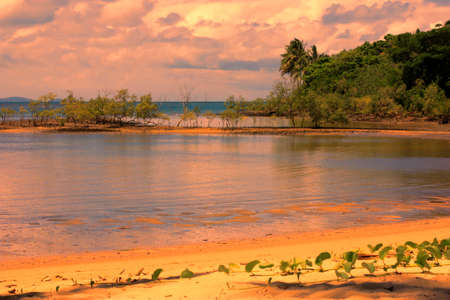 port douglas: Port Douglas foreshore in the sunset