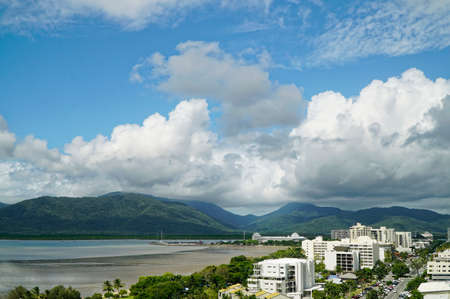 hot day: Tropical Cairns on a hot stormy day Stock Photo