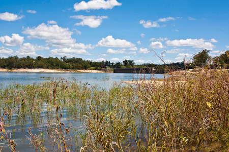 Tinaroo Dam popular tourist destination and recreational facility for the Atherton Tablelands Stock Photo