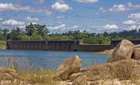 Tinaroo Dam popular tourist destination and recreational facility for the Atherton Tablelands Queensland Australia